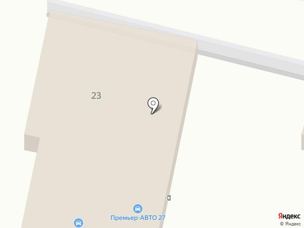 У Виктора на карте Хабаровска