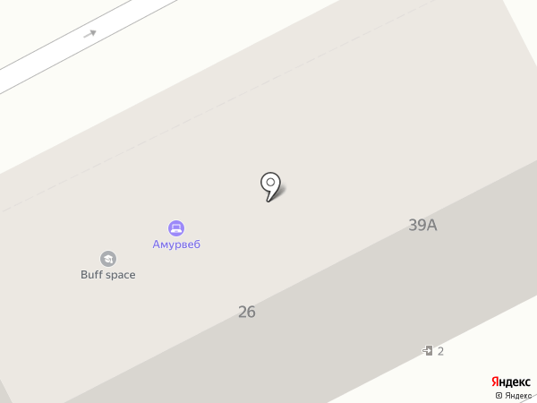 Научно-экспертный центр права, АНО на карте Хабаровска
