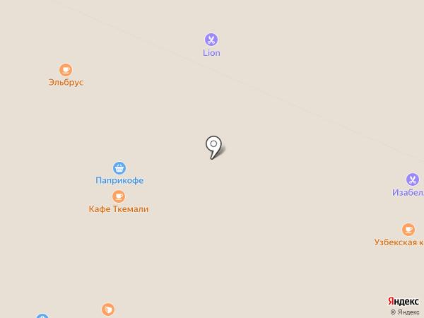 Весёлая расчёска на карте Хабаровска