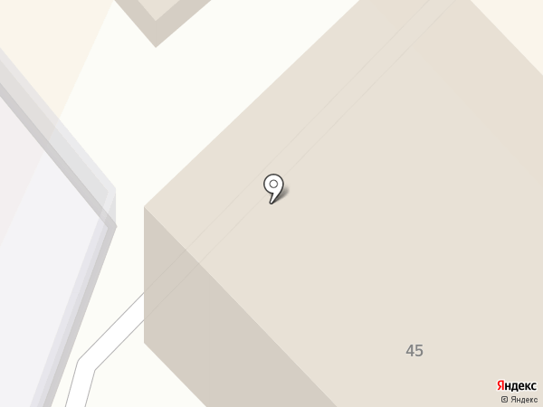 Шестой арбитражный апелляционный суд на карте Хабаровска