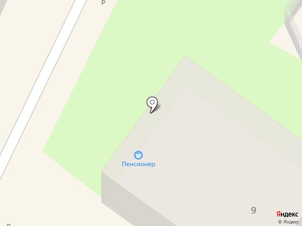 Пенсионер на карте Хабаровска