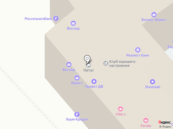 ДВ-Тендер на карте Хабаровска