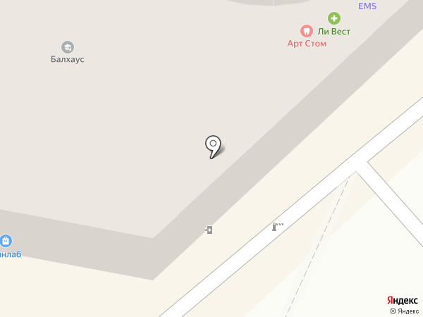 Адвокатский кабинет Крупнова В.А. на карте Хабаровска
