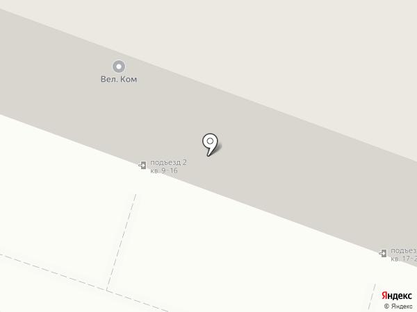 Теплина на карте Хабаровска