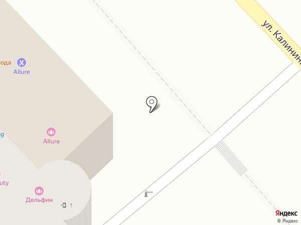 KING BARBERSHOP на карте Хабаровска