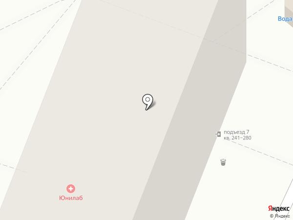Восточный на карте Хабаровска