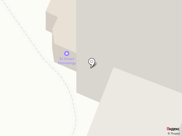 Торус на карте Хабаровска