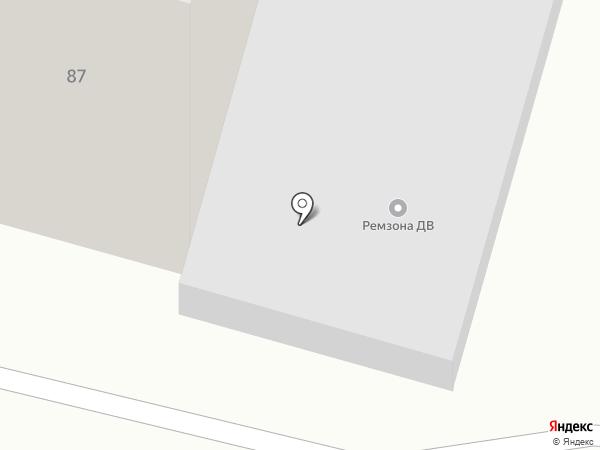 ВИЗИТ-ВОСТОК на карте Хабаровска