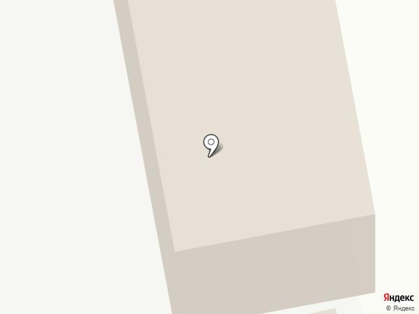 Южанка на карте Хабаровска