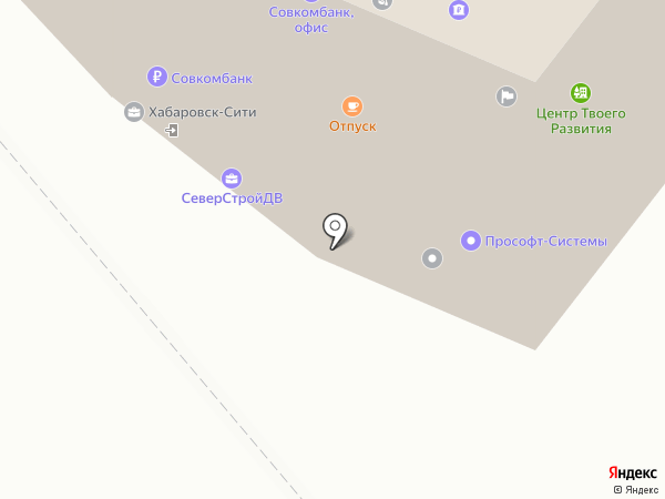 RuPlans на карте Хабаровска