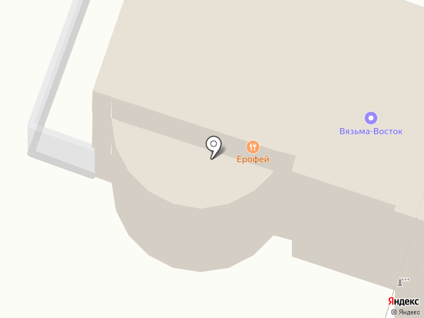Капелла на карте Хабаровска