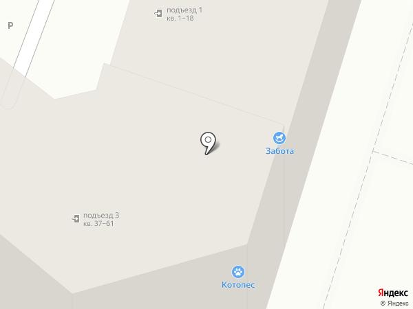 АрхСтройДВ на карте Хабаровска