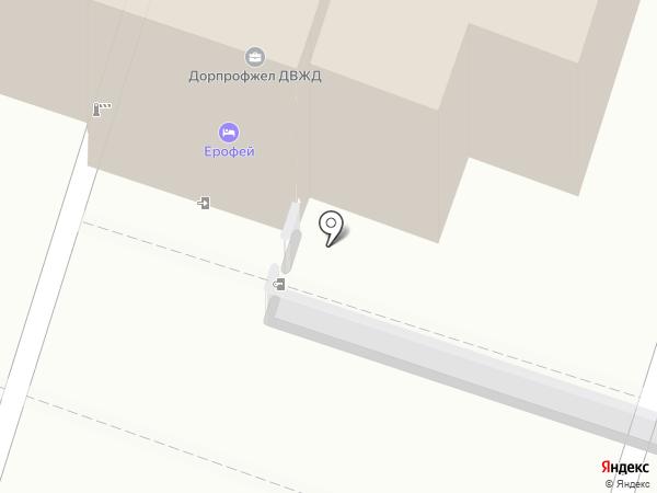 Алькор на карте Хабаровска