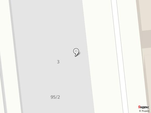 Омега Авто на карте Хабаровска