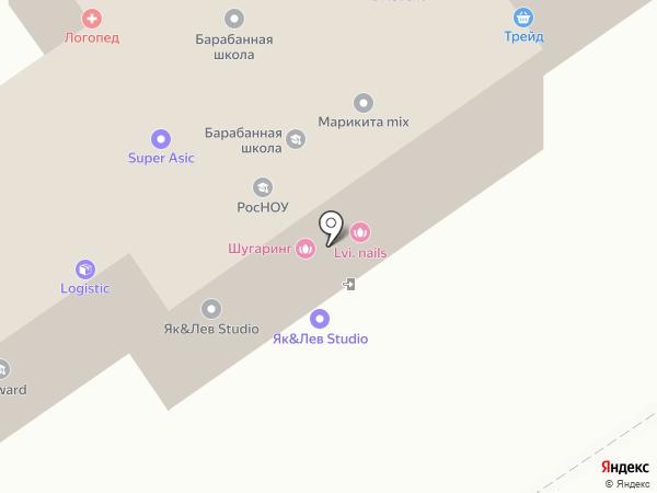 Бусинка на карте Хабаровска