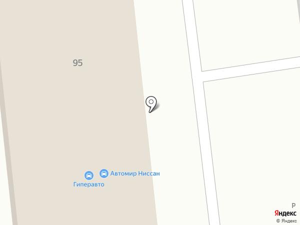 Гиперавто на карте Хабаровска