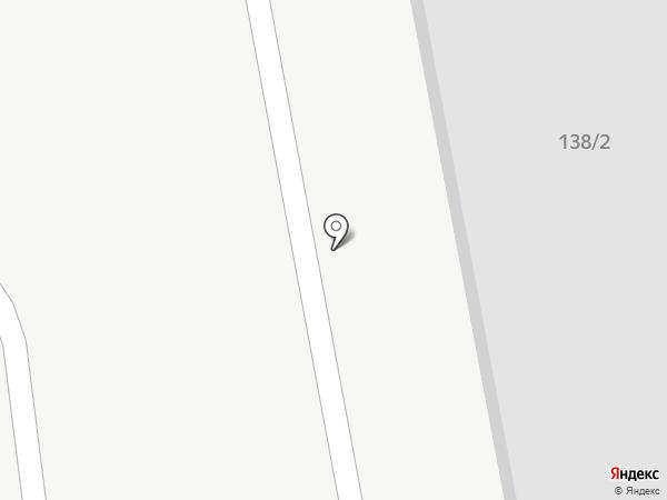 Гибрид на карте Хабаровска