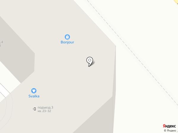 КАНАДАТЭК на карте Хабаровска