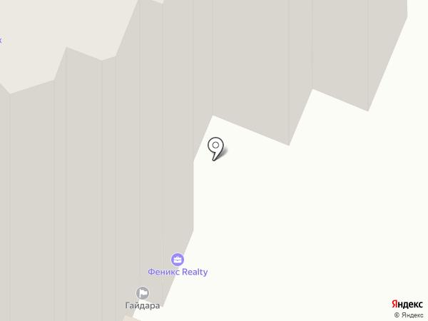 Пивница на карте Хабаровска
