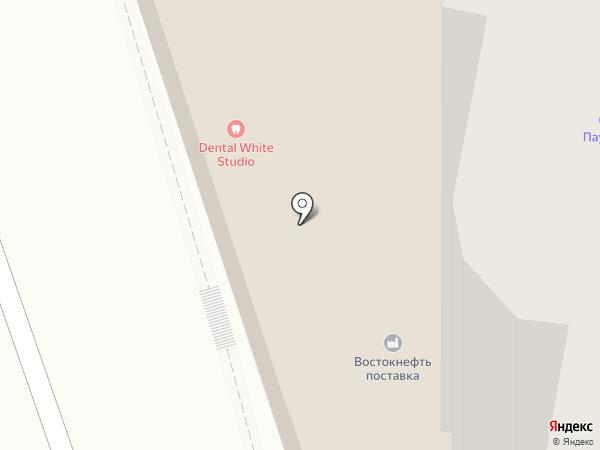 Шелк на карте Хабаровска