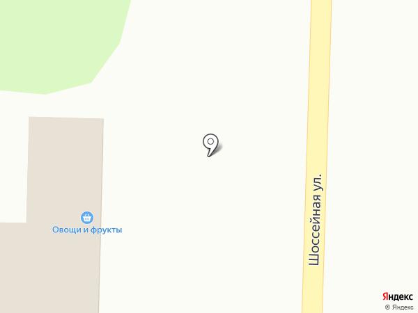 Магазин продуктов на карте Сосновки