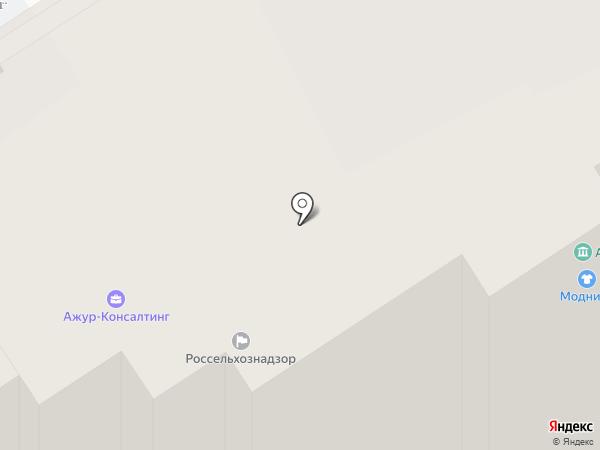 1С:БухОбслуживание. Ажур-Консалтинг на карте Хабаровска