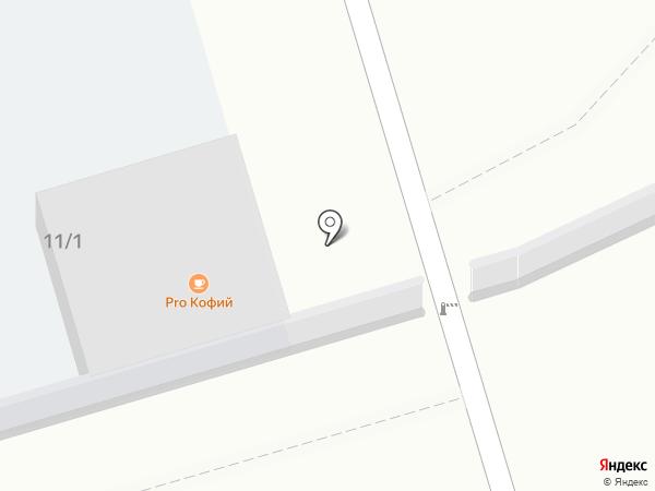 Автостоянка на карте Сосновки