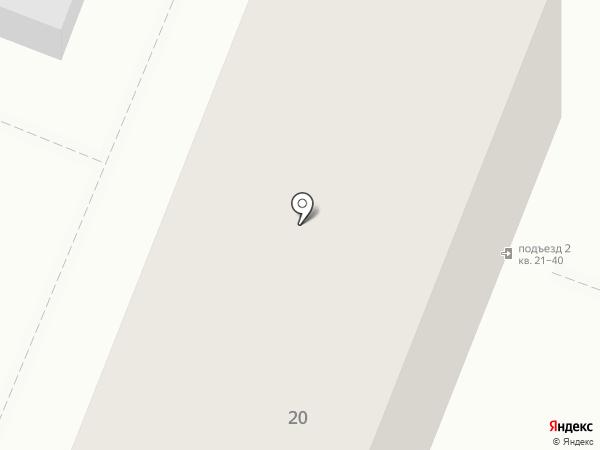 Вхалате на карте Хабаровска