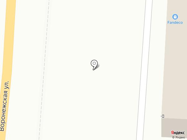 FANDECO на карте Хабаровска