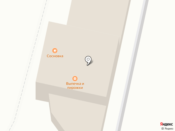 Сосновка 13 км на карте Сосновки
