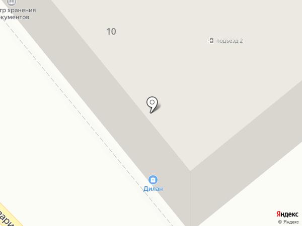 Комната на карте Хабаровска