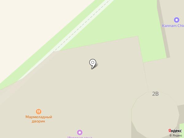 Бэмби на карте Хабаровска