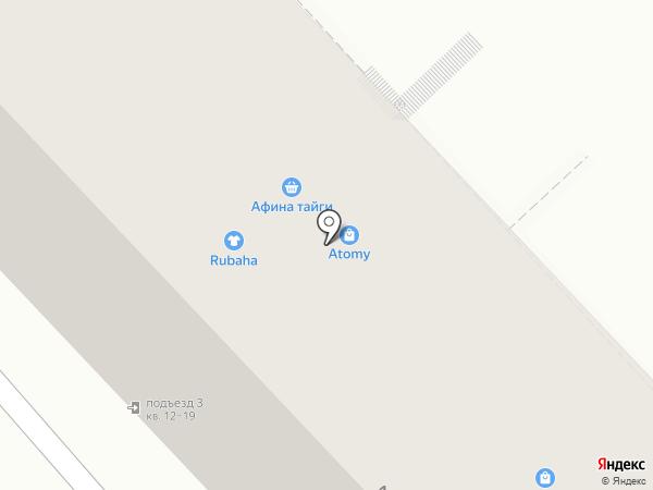 Десяточка на карте Хабаровска