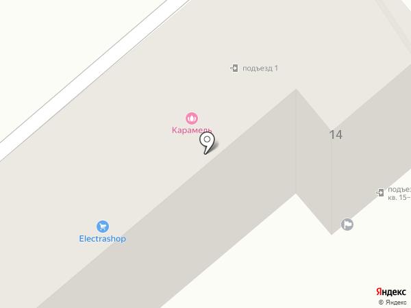 ЛАПКА на карте Хабаровска