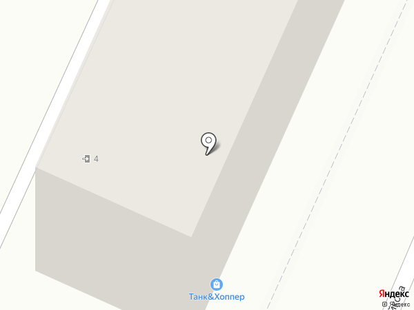 Талисман на карте Хабаровска
