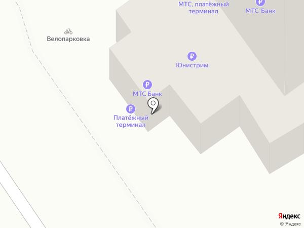NPS на карте Хабаровска