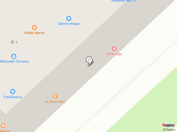 Kraftu Fox на карте Хабаровска
