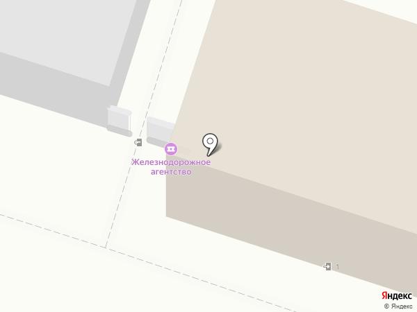 Сервисный центр Дальневосточного железнодорожного агентства на карте Хабаровска