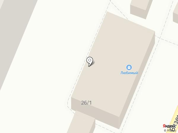 Суши Ями на карте Хабаровска