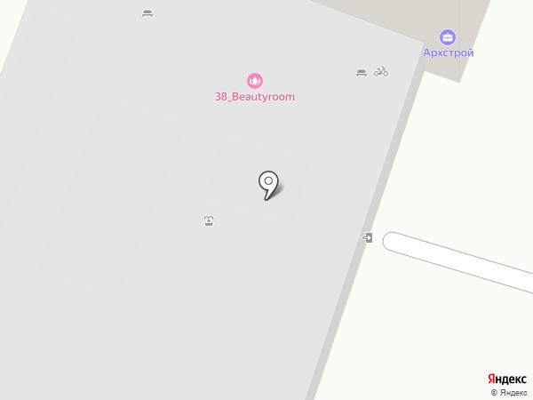 Корф на карте Хабаровска