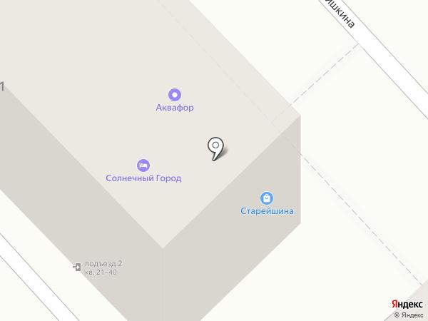 EDELBIER на карте Хабаровска
