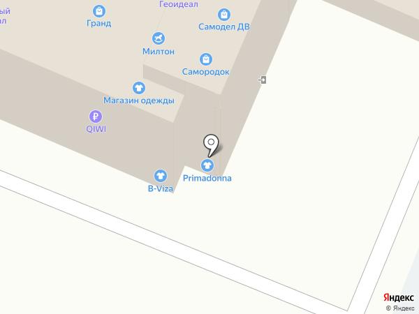 Самородок на карте Хабаровска