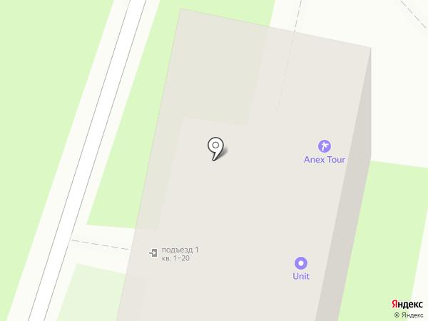 Анекс Тур на карте Хабаровска