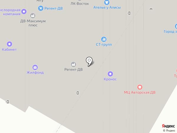 Lil Ballerine на карте Хабаровска