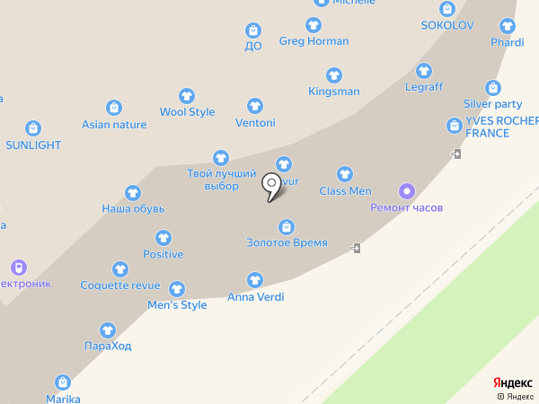 Only на карте Хабаровска