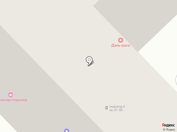 Ева на карте Хабаровска