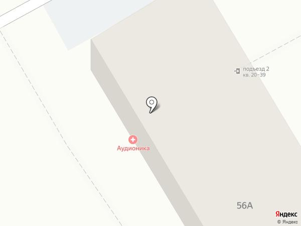 TOYOTA на карте Хабаровска