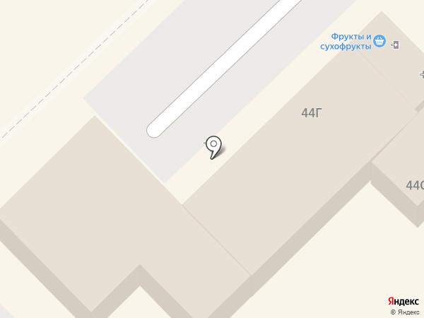 Блюзмобиль на карте Хабаровска