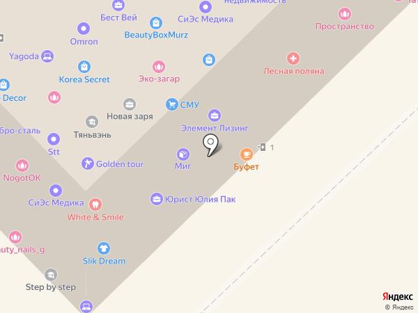 Виолет Бьюти на карте Хабаровска