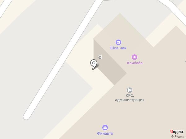 ФинАвто на карте Хабаровска